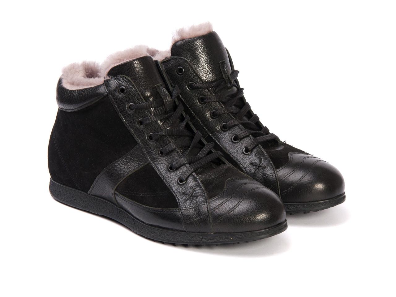 Ботинки Etor 7983-633 черные