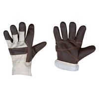 """Утеплені захисні рукавички """"Шкіра Утеплені"""""""