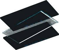 Скло змінна для захисної маски прозоре 90мм×110мм