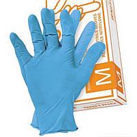 Медичні рукавички нітрилові RNITRIO N неопудрені