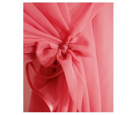 Готовый комплект занавесок для кухни Тоскана Розовый, фото 2