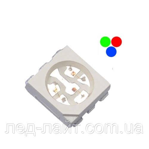 Светодиод SMD 5050 RGB