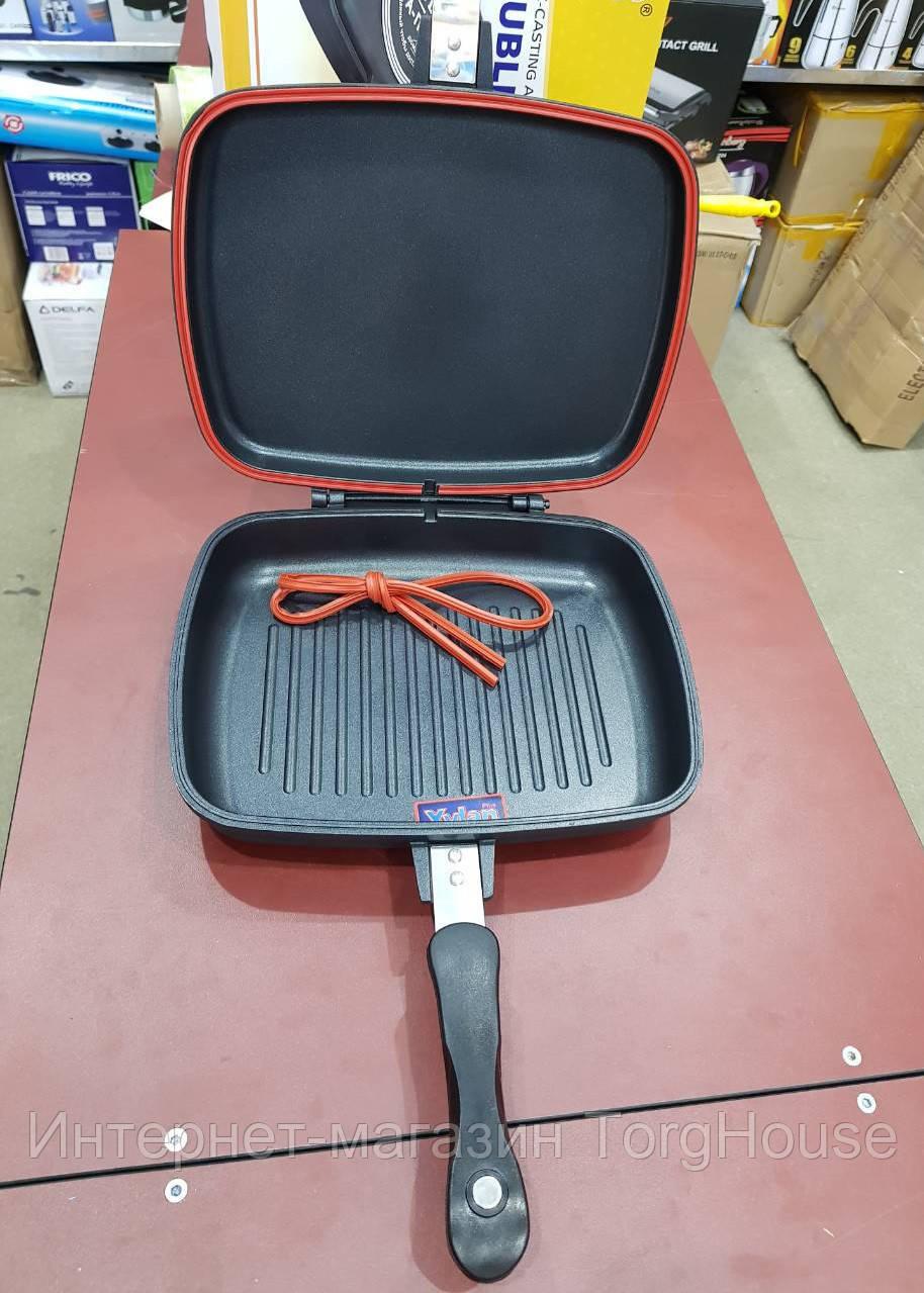 Сковорода для гриля двойная A-PLUS FP-1500 DOUBLE PAN (30 см)