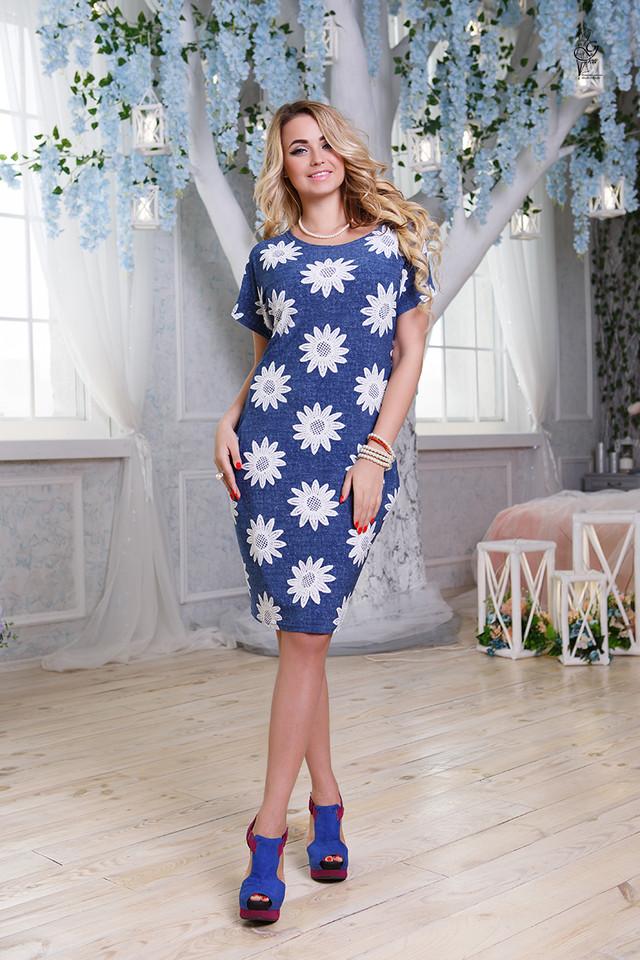 Подобные товары-6 Женских летних платьев большого размера Лонда-6