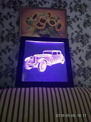 3d led картини світильники