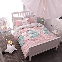 Комплект постельного белья Сладости (двуспальный-евро) Berni, фото 1