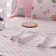 Комплект постельного белья Сладости (двуспальный-евро) Berni, фото 9
