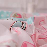 Комплект постельного белья Сладости (двуспальный-евро) Berni, фото 8