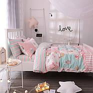 Комплект постельного белья Сладости (двуспальный-евро) Berni, фото 6