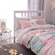 Комплект постельного белья Сладости (двуспальный-евро) Berni, фото 5
