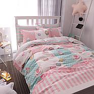 Комплект постельного белья Сладости (двуспальный-евро) Berni, фото 3