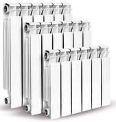 Топ продаж - алюминиевые и биметаллические радиаторы