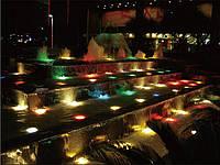 Подсветка разноцветная садовая фонтанная уличная герметичная 24 режима 60 ламп метр свет17к-60