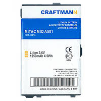 Аккумулятор Craftmann MiTAC MIO A501 1250mAh E3MT171103C12