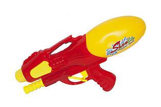 """Водяний пістолет """"Water Gun"""" червоний з накачуванням, 093-605A"""