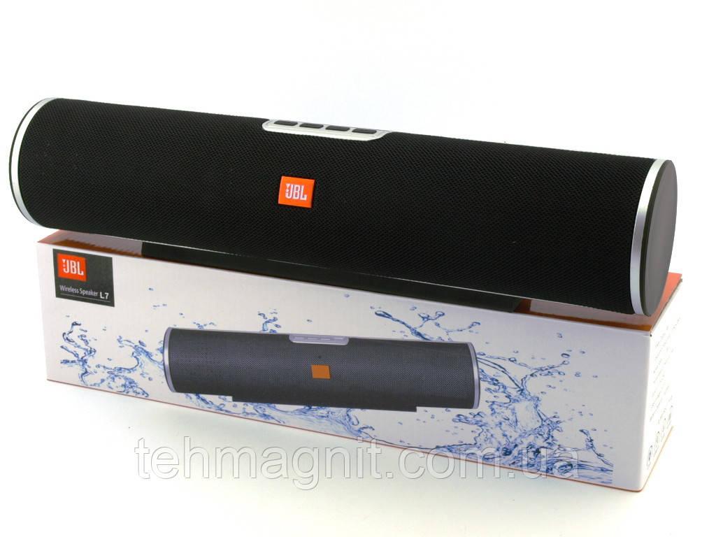 Портативная стерео колонка 8W , USB/SD/FM/Bluetooth  L 7 ( Реплика )