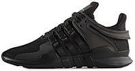 Мужские кроссовки adidas Equipment Support ADV 'Triple Black' (Адидас Эквипмент) черные