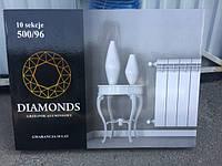 """Радиатор,батарея ( 16 атм) Польша алюминий 500/96 """"Diamonds"""" Даймондс Сушилка для белья - в подарок, фото 1"""