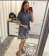 Женское джинсовое платье , лёгкое , элегантное., фото 1