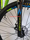"""Горный велосипед Winner Impulse 27.5 дюймов 17"""" зеленый, фото 9"""