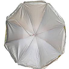 Зонт пляжный с наклоном 180 cm .Цветной  Ткань с защитой от УФ излучения. (palma 1), фото 3
