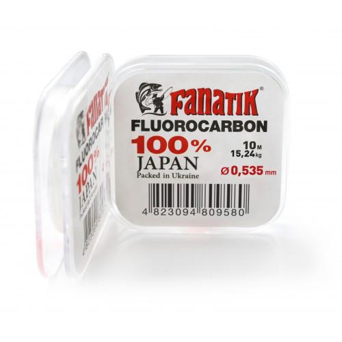 Флюорокарбон Fanatik 10 m (#10.0) 0,535 mm 15,24 kg