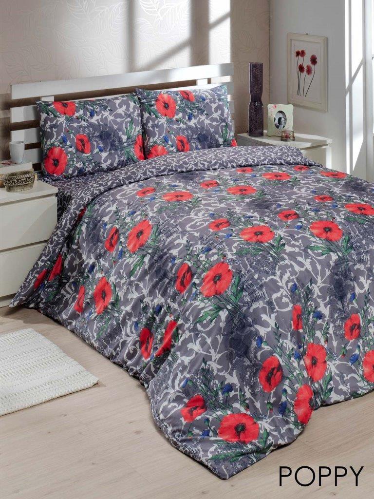 Полуторный комплект постельного белья Le Vele Poppy