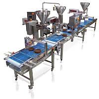 Линии для производства тортов, пирожных Unifiller