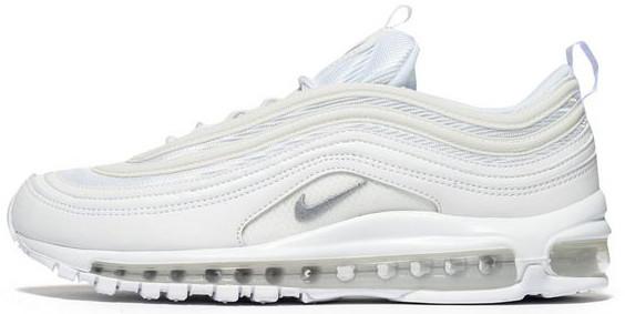 Женские кроссовки Nike Air Max 97 'White/Grey' (Найк Аир Макс) белые