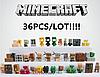 Набор 36 шт. Майнкрафт Minecraft Фигурки героев