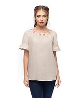 """Блуза натуральний льон """"Барвінок"""" розміри в наявності"""