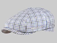 Кепка хуліганка клітка, розмір 56-60