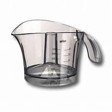 Контейнер (кувшин, стакан) для сбора сока цитрус-пресса соковыжималки Braun 81245015