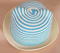 Шляпа для девочки р 52-54