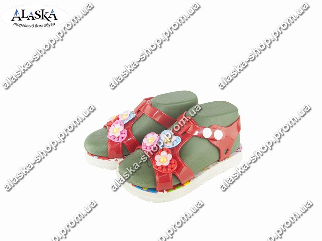 Детские сандалии (Код: 611-13 красный )
