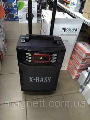 Колонка Комбик GOLON RX-2900BT BLUETOOTH MP3 FM Радиомикрофон пульт 2000W