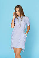 Летнее платье туника  44 по 54 размер