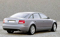 Заднее стекло (ляда) Audi A6 (2011-), седан, с антенной для радио, с местом под стоп-сигнал