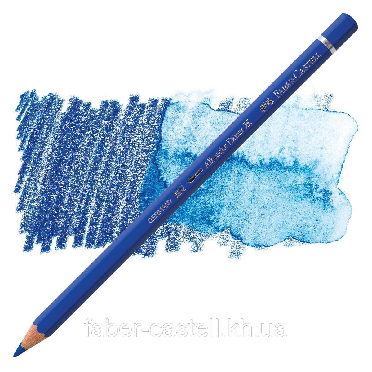 Карандаш акварельный цветной Faber-Castell Albrecht Dürer кобальтовая синь  ( Cobalt Blue )  № 143, 117643