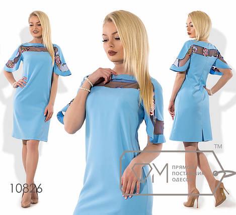 Нарядное платье с вышивкой, фото 2