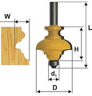Фреза кромочная фигурная мультипрофиль, хв.8мм (арт.10570)