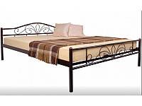 Кровать Лара Люкс 160 Бежевая