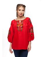 """Вишита жіноча блуза """"Чарівниця"""" розміри в наявності, фото 1"""