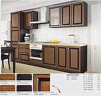Кухня комплект 32 фасады Шпон, Кухни с фасадами шпонированными натуральной древесиной, Кухня под заказ, наборн
