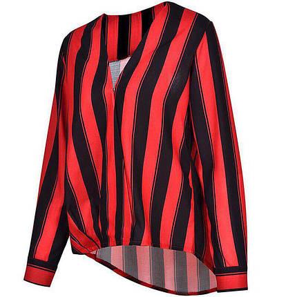 Летняя легкая женская блузка из шифона, фото 2