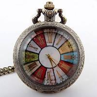Карманные мужские часы на цепочке отличный подарок