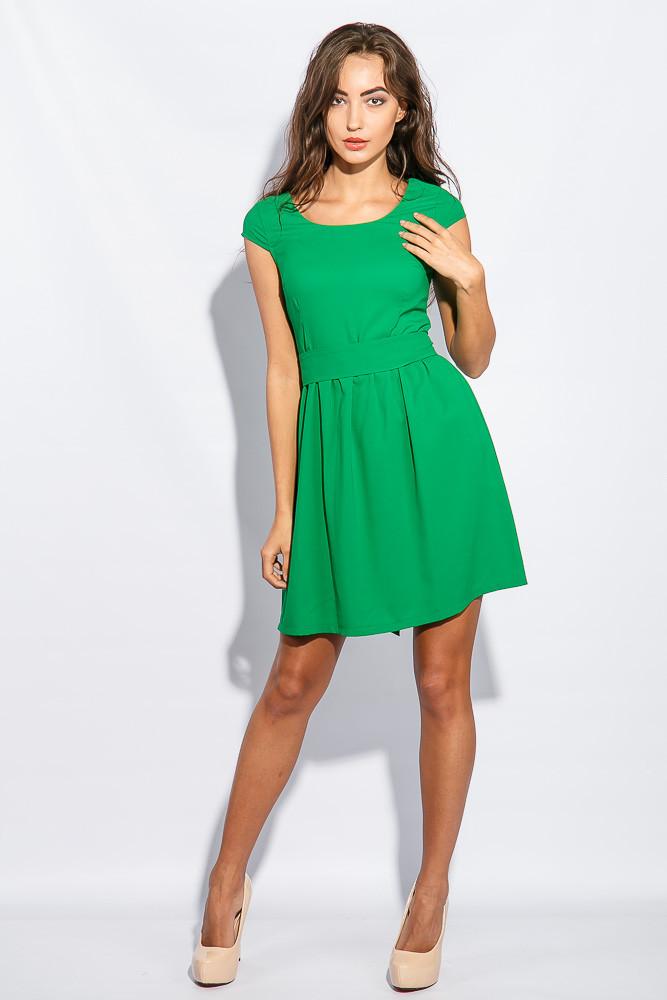 Платье женское воздушное 964K009 (Зеленый)