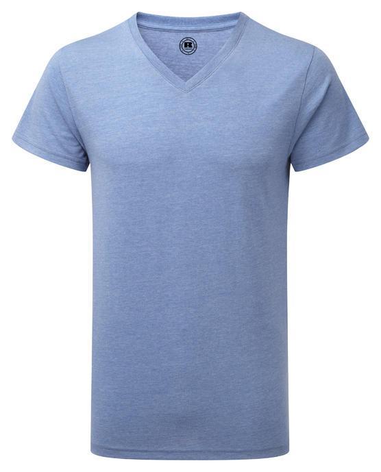 Мужская футболка Russell  V-Neck HD
