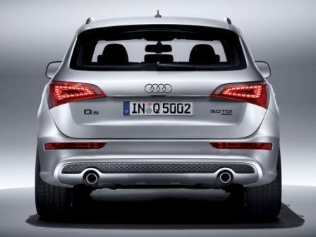 Заднее стекло (ляда) Audi Q5 (2008-2016), Внедорожник, с антенной для радио