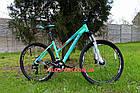 """Горный велосипед Winner Alpina 27.5 дюймов 15"""" голубой, фото 2"""